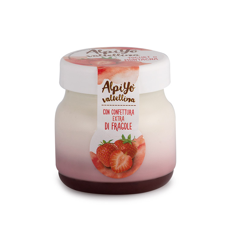 Yogurt fragola Alpiyò - Valtellina