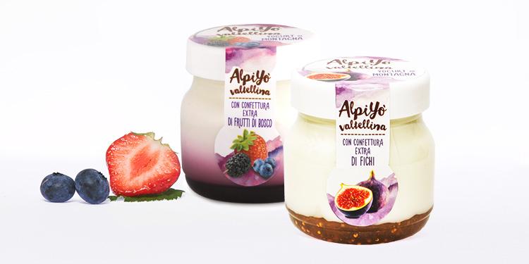 Yogurt e burro valtellinese