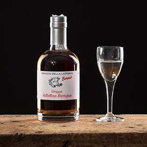 Grappa Valtellina Barrique